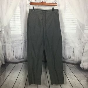 DKNY Vintage Gray Striped Trouser Pants ITALY 10